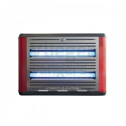 Vliegenlamp Halo 30 Shades Rood-Zilver Professional 80m2
